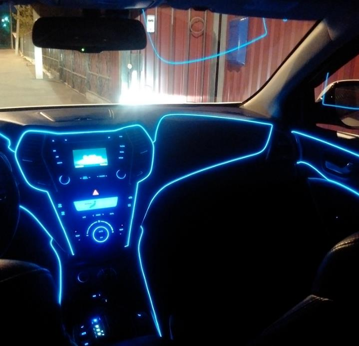 Color Car Interior Led Light Atmosphere Lamp Auto Ambient Lighting