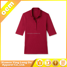 Good quality hotsell wholesale 100 cotton t-shirt customised polo shirts