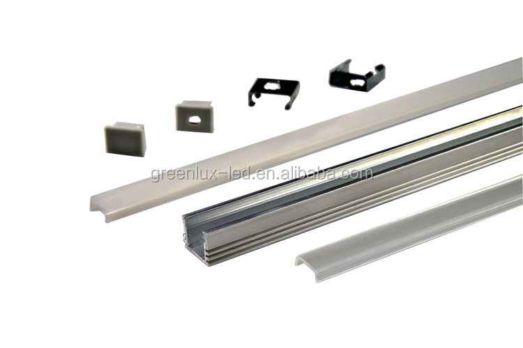 Frosted Acrylic Extrusion Diffuser Light Led 6063 Aluminum Profile ...