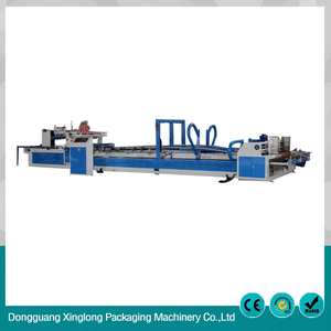Professional manufacture one year warranty automatic folder gluing