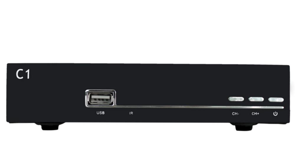 Singapore Digital Dvb-c Cable Receiver C1 Receiver Iptv Full Hd ...