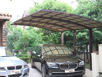 Carport Canopy And Snow Shade With Polycarbonate Roof ...