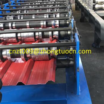 Roll Bending Machine Q Tile Galvanized Aluminum Metal