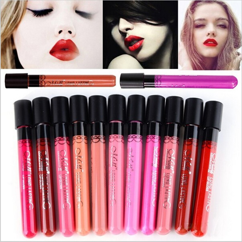 Hot Sale Matte Lipstick Menow Brand 20 colors velvet high quality waterproof long lasting Lip gloss Brand Makeup free shipping