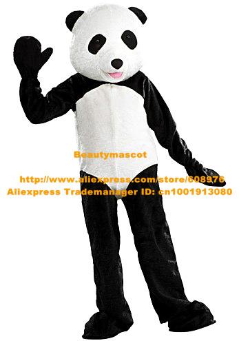 Get Quotations · Fancy Black White Panda Bear Mascot Costume Mascotte Bearcat Catbear Adult With White Round Head Pink  sc 1 st  Alibaba & Cheap Panda Bear Costume Head find Panda Bear Costume Head deals on ...