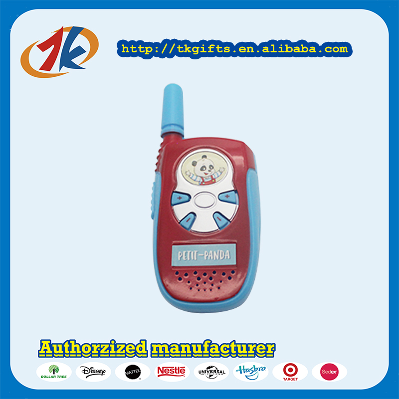 OEM Mini Plastic Walkie Talkie Toy For Kids