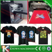 A3 size 3D effect DTG printer digital t shirt printer 3d effect whole sale t shirt printing