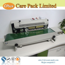 Automatic continuous plastic bag sealing machine heat sealer