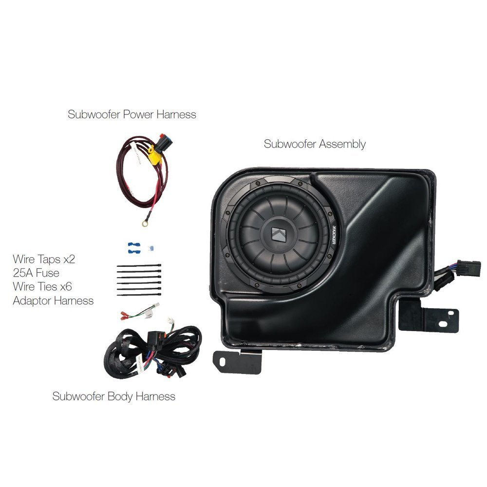 Cheap Gmc Audio Systems Find Deals On Line At 2013 Fog Light Wiring Harness Get Quotations Kicker Ff3se07sa Full System Upgrade For 2007 Chevrolet Silverado Sierra Extended Cab