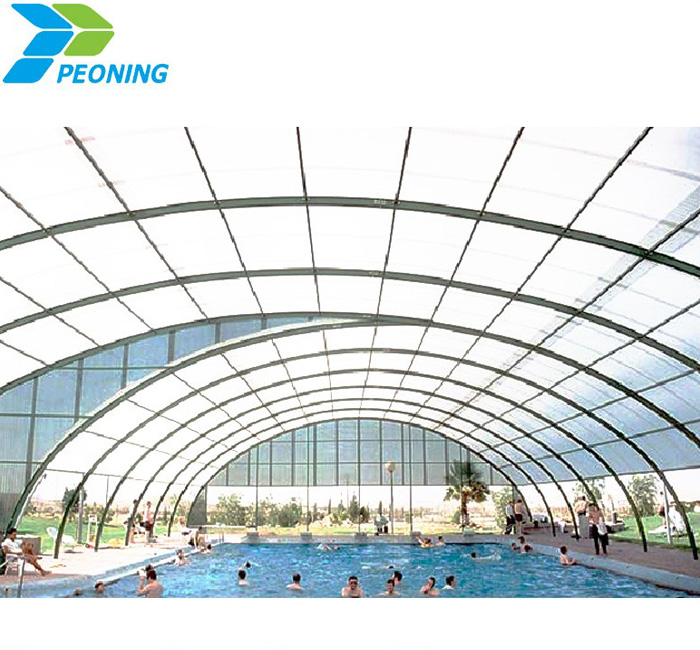 High quality competitive polycarbonate screen shelter clear plastic window