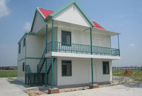 Prefabricated 40 feet container house steel structure house