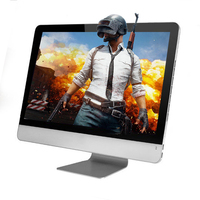 Cheap ultra thin 23.6 inch intel l i3 i5 i7 desktop all-in-one PC gaming computer