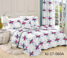 High quality luxury multi-pattern healthy microfiber soft adult cotton quilts