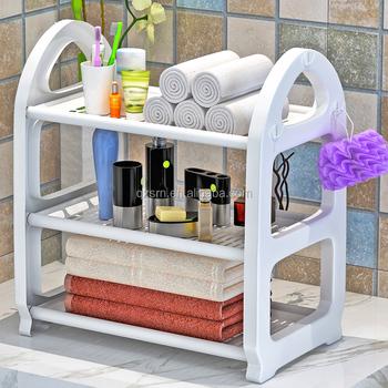 Cheap 3 Tier Plastic Shelving Unit Storage Racks And Shelves For  Kitchen,Bathroom;studyroom - Buy Storage Rack,Plastic Storage Rack,Plastic  Storage ...