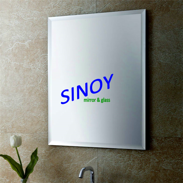 Different Shaped Mirrors sinoy decorative frameless bathroom mirror,with polished c-edge