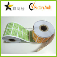 Custom Adhesive Hair Extension Label Stickers