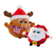 Small plush toy Christmas soft toy Santa Claus stuffed toys for sale