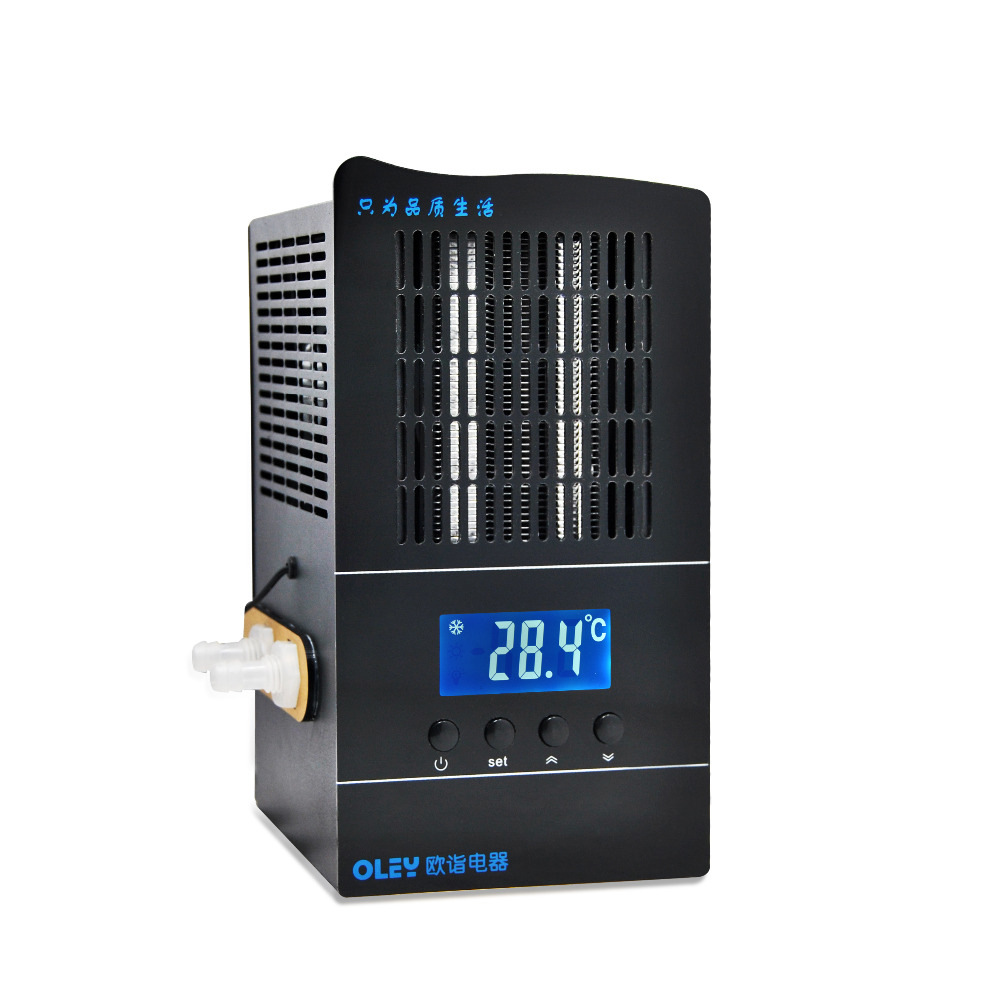 RINGDER LS-02 Digital Mini Water Chiller for Aquarium <strong>Heat</strong>/Cool