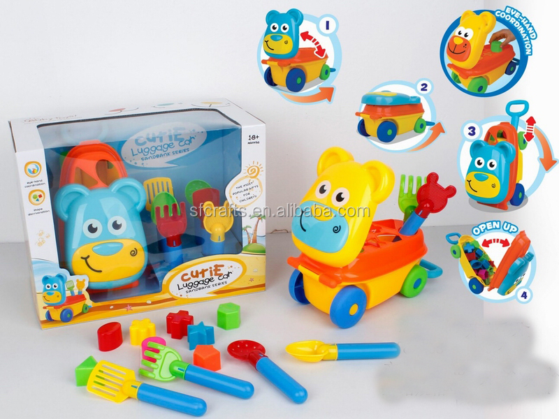 2015 Kids Newest Beach Block Toys