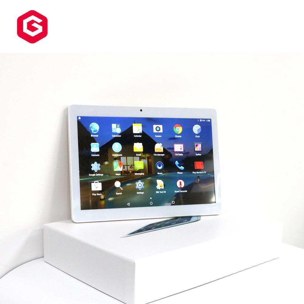 एंड्रॉयड टैबलेट 10 इंच ट्रैक्टर कोर 1GB + 16 GB/2GB + 32GB गोली पीसी के साथ फोन कॉल गोली समर्थन OEM अनुकूलित ब्रांड