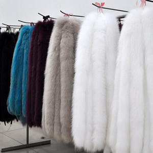 Selling by the meter of mink/fox/rabbit/ Mongolian faux fur