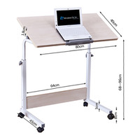Hot Sales Adjustable Mobile Laptop Stand Sit Stand Desk PC Computer Tables