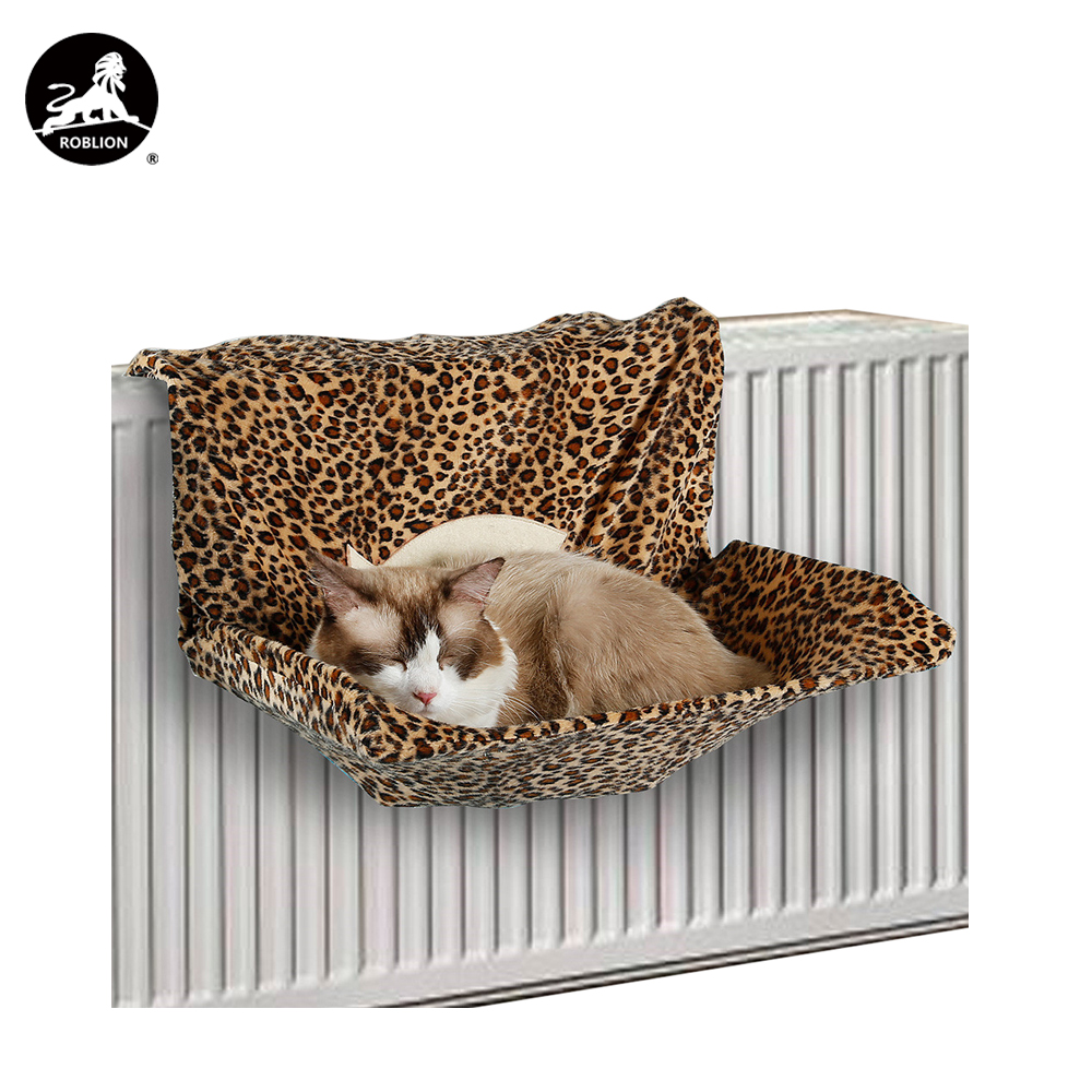 Home & Garden Pet Products Imported From Abroad Durable Pet Cat Hanging Beds Chairs Pets Hammock Detachable Washable Balcony Kitten Swing Bedspread Cat Window Bed