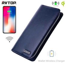 Cell phone case phone wallet wireless charger and usb for samsung galaxy s7 for iphone se battery case