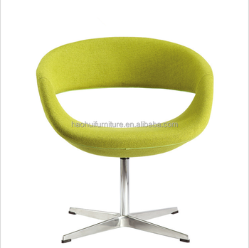 Modern swivel round chair fabric leisure chair for living room, View modern  swivel chair, Haohui Product Details from Foshan Haohui Furniture Company  ...