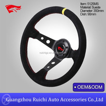 Euro Style 350mm Deep Dish Sportivo Steering Wheel
