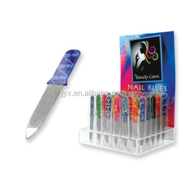 Glass Nail Files Display Acrylic Nail Files Display Stands - Buy ...