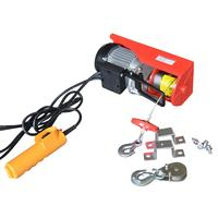 800kg Construction lift hoist electric wire rope hoist fitness