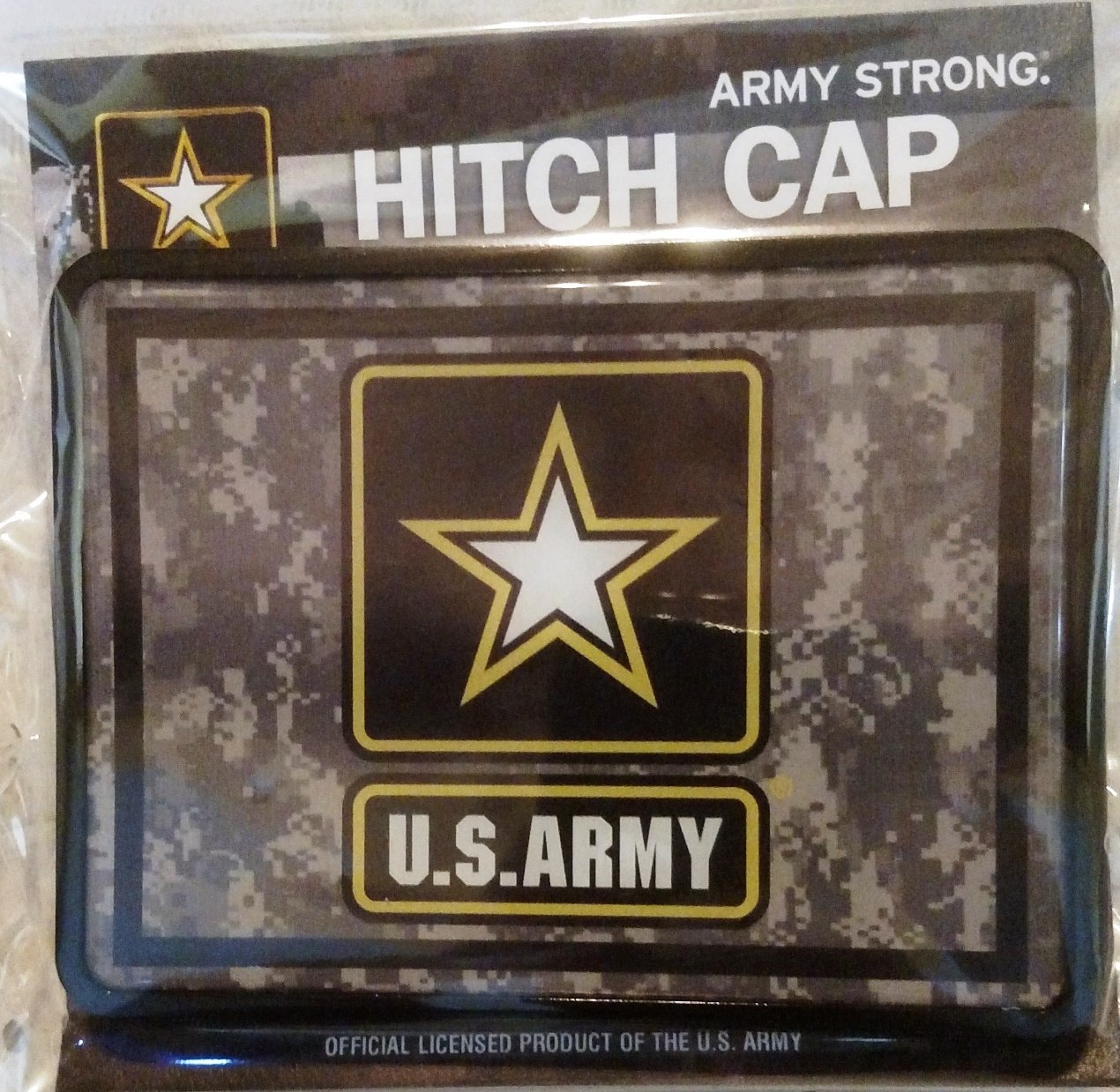 United States Army Universal Bumper Trailer Auto Hitch Cover Military US