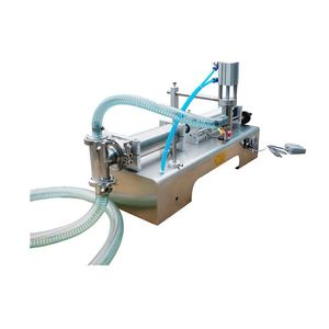 Fast Response Semi Automatic Filling Machine Liquid Bottle Filler