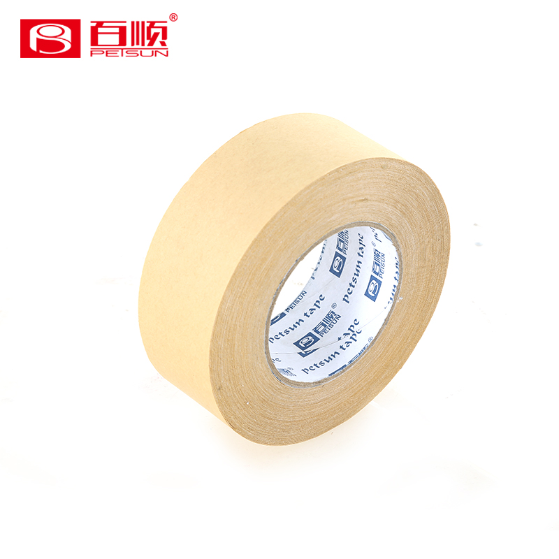 Eco-friendly brown kraft paper gummed tape for packing the carton
