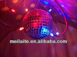 Mirror Ball & Motor rotating ball disco party dj light