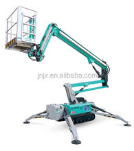 Crawler tracked articulated boom lift