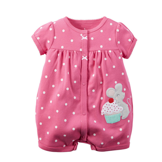 New Arrival Summer Girls and Boy's New Born <strong>Baby</strong> <strong>Jumpsuit</strong>; Infant Toddler Cotton Rompers