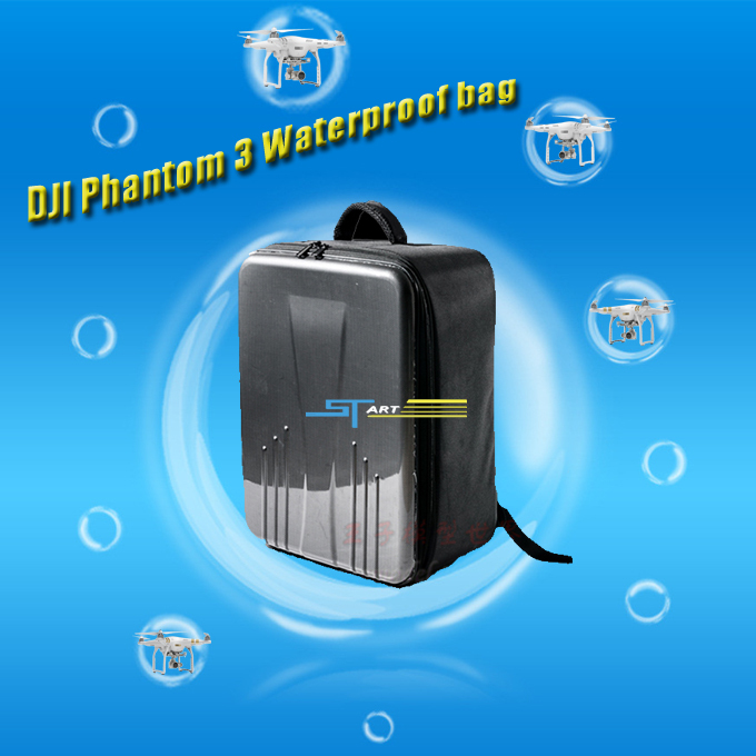 Hot DJI Phantom Carton Fiber Backpack Waterproof Bag For DJI Phantom 3 RC