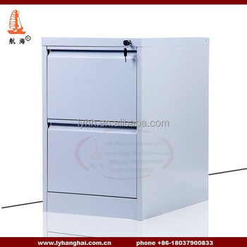 Light Grey Powder Two Drawer Filing Cabinet Hold Hanging File Folder  Executive Office Legal Size 2