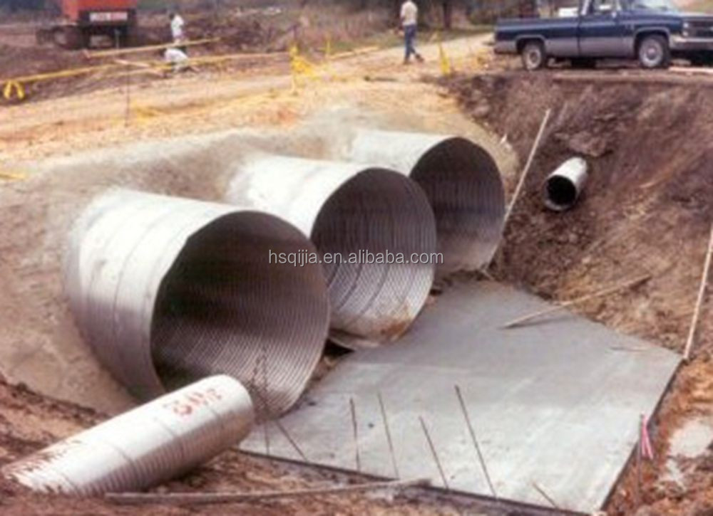 Used Driveway Culverts Corrugated Galvanized Metal Pipe - Buy Whole  Corrugated Steel Pipe,Factory Direct Sell Corrugated Steel Pipe,New Design