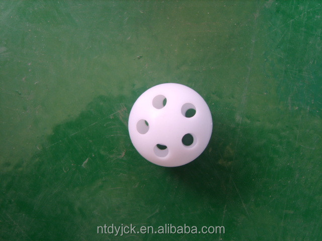 18-38mm jingle bells klinken jingle pp plastic ballen voor speelgoed