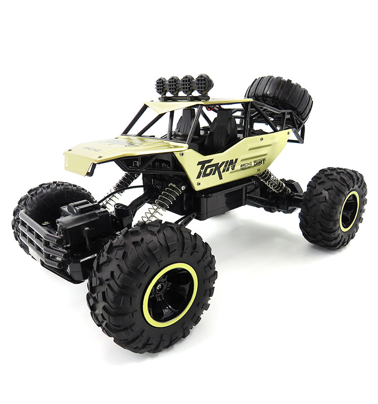 Flytec 6026E 1:12 Alloy RC Car 4WD Off-Road Buggy With Four-wheel Independent Suspension Remote Control Toy