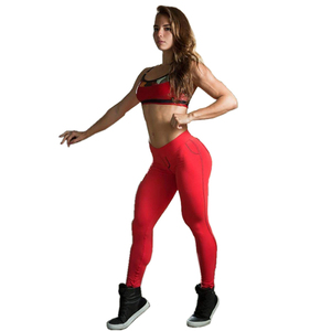 Custom Jogging Leggings Yoga Wear Women Gym Clothing