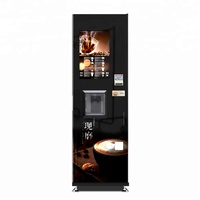 Fully Automatic Espresso Smart Coffee Vending Machine with Spoon Dispenser LE308B