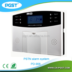 Wireless digital home security alarm system, gsm pstn dual network burglar alarm system, CE RoHS