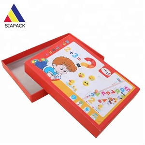 Customized printed cardboard child game card box packaging