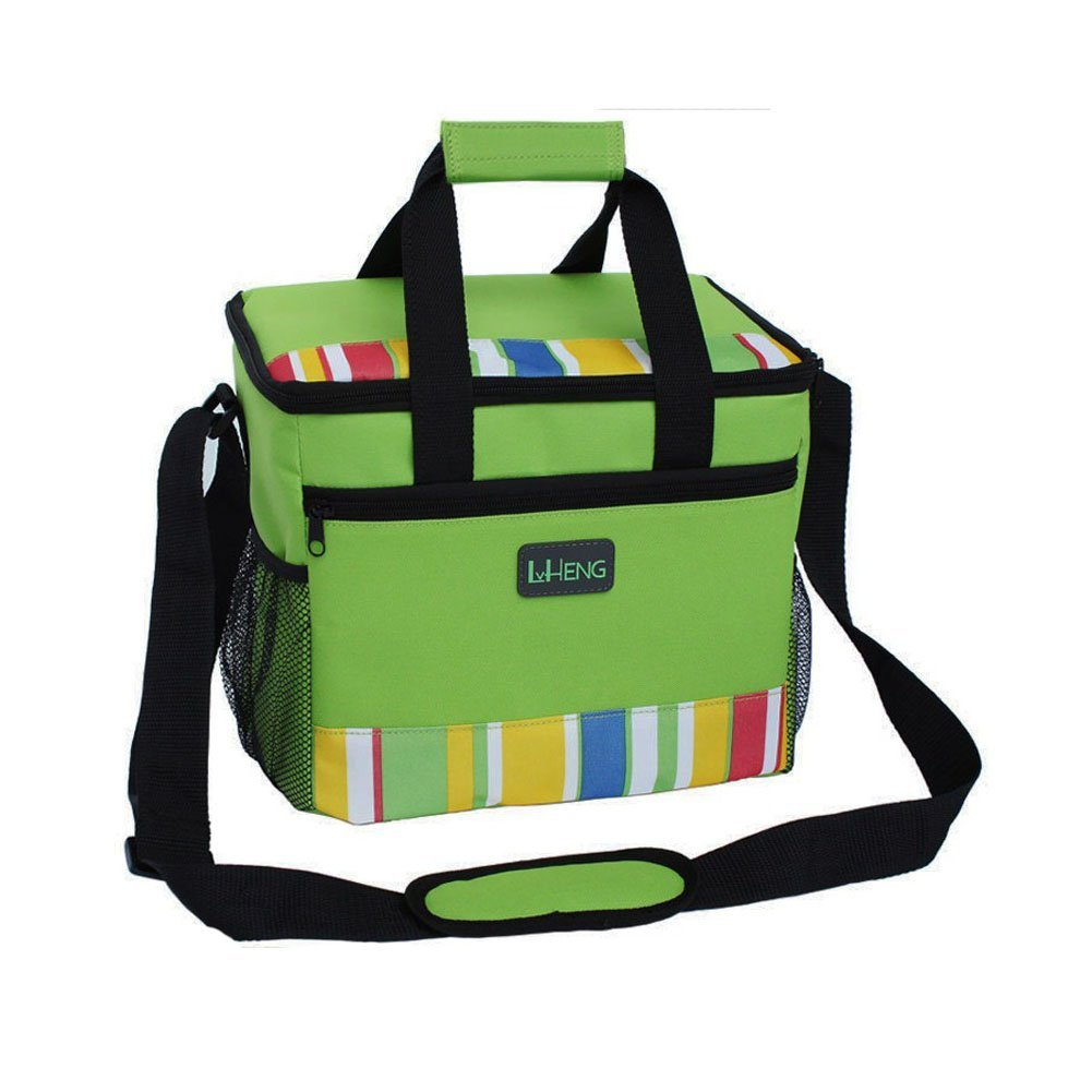 Insulated Zippered Hot & Cold Cooler Tote Mobile Cooler/Lunch Box(27.52025CM)