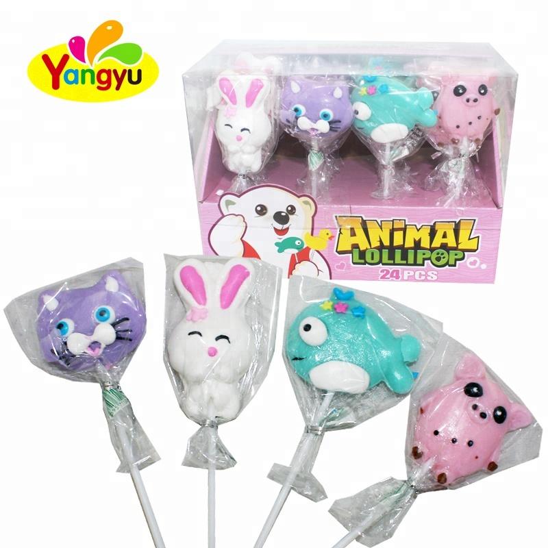 Cartoon Park Animal Lollipop Sticks Soft Candy Marshmallow Candy - Buy Big  Bom Sour Rotating Lollipop Sweet,Giant Penis Yogueta Lollipop Mold With Gum  ...