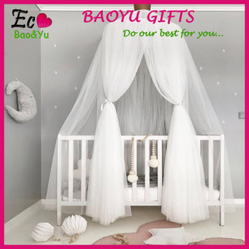 2017 new crown bed kid canopy cotton princess mosquito net - buy